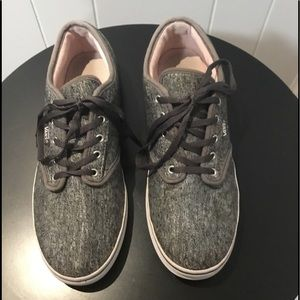 Vans Gray Flannel Sneakers